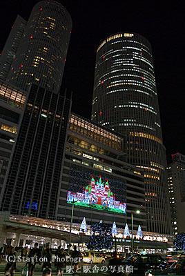 JR東海・名古屋駅のイルミネーション
