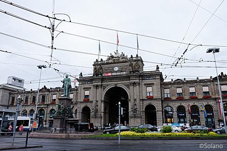 チューリヒ中央駅駅舎