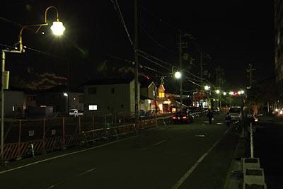 区画整理が進む浜寺公園駅前通り