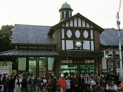 JR東日本・原宿駅。都内最古の木造駅舎