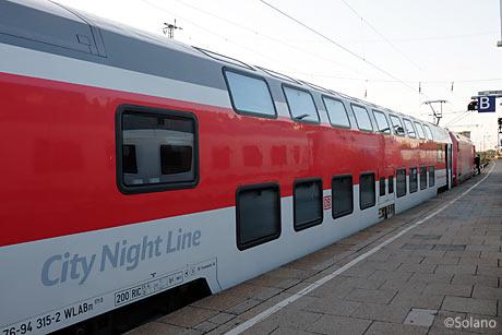 CNLハンブルグ‐チューリヒ二階建車両