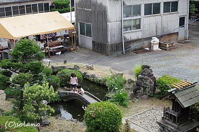天浜線車庫構内、さつきが池