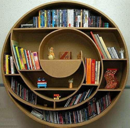 unusual-and-desirable-bookshelves-designs-circle