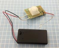 8-電池ケースと基板とLED