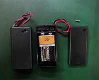 とっても便利な、スイッチ付き電池BOX!