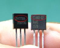 ICも小さいけど、文字も小さいの。そして光で反射して見にくいの。