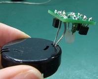 ボタン電池BOXと結合!
