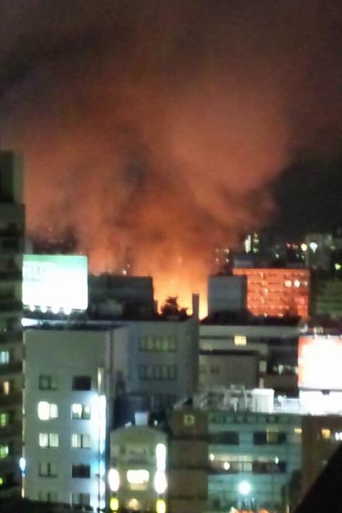 【緊急】川越の火事が凄い_005