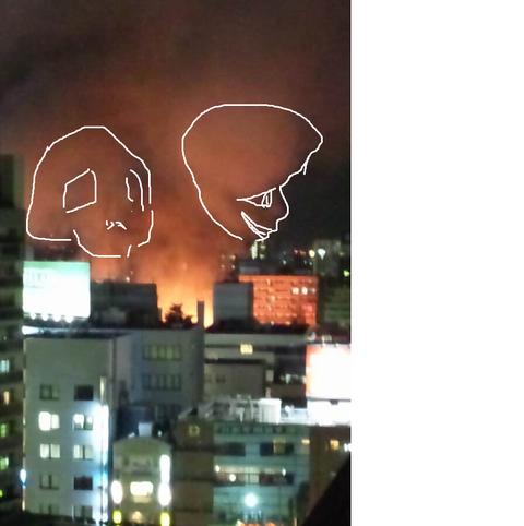 【緊急】川越の火事が凄い_013