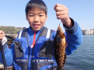 春の小磯釣り