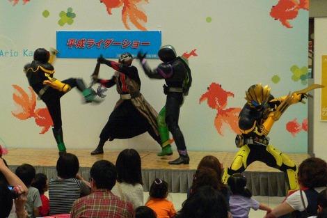 20120429 平成ライダーショー 戦い