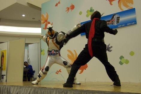 20120504 しんちゃんとフォーゼ戦う