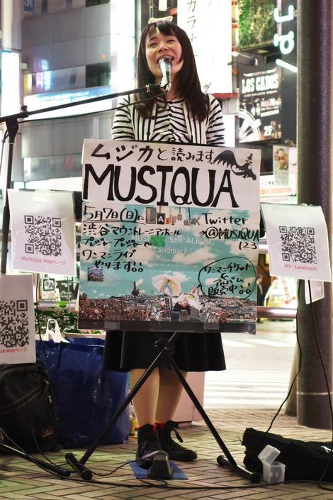 20170414 MUSIQUA渋谷路上ライブ-B
