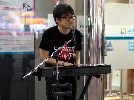 20180608 新谷隼平 池袋路上ライブ-9