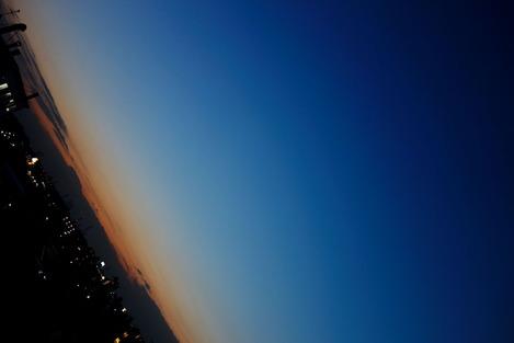 20140118 夕刻の空