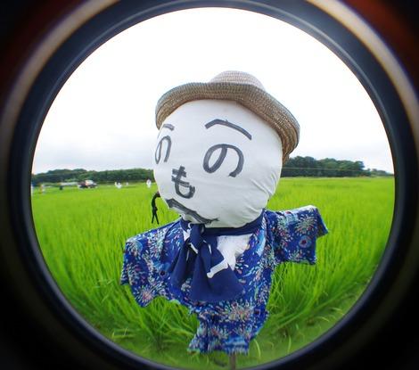 20170805 見沼たんぼのかかし-1