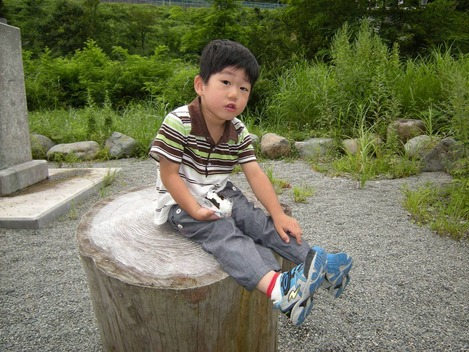 20100813 高波吾策像
