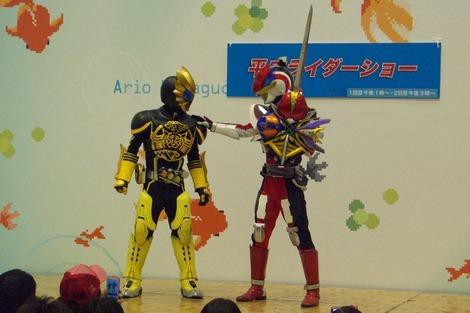 20120429 平成ライダーショー電王とラトラータ