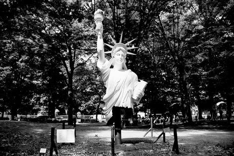 20170722 自由な女神〜上野公園