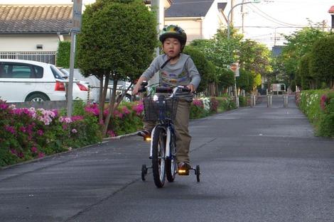 20120506 自転車デビュー