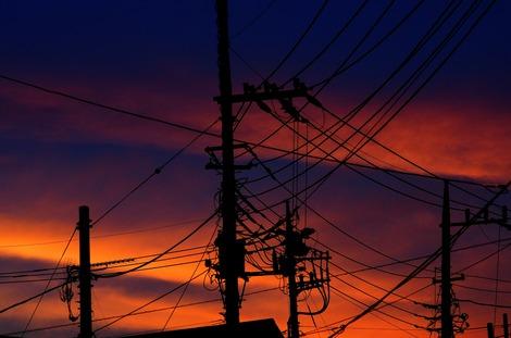 20160710 電線ばかりの空