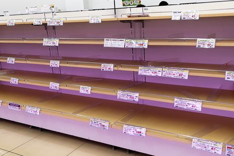 20180929 台風対策_パン売り場