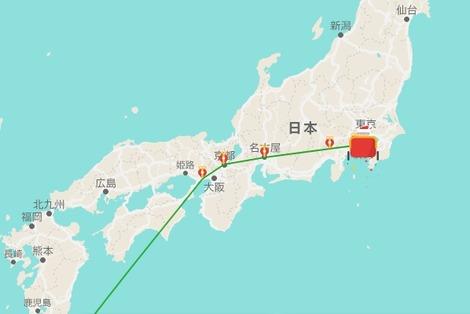 20161224 google santa come tokyo