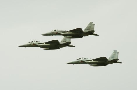 20181014 朝霞駐屯地観閲式F-15