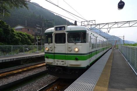 20110817 土樽駅上越線