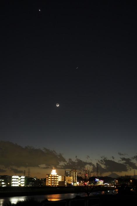 20170130 月と金星とISS3