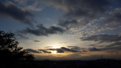 20080503 夕刻の空