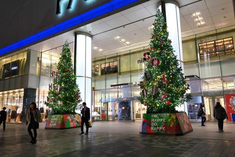 20181114 浦和パルコクリスマスツリー1