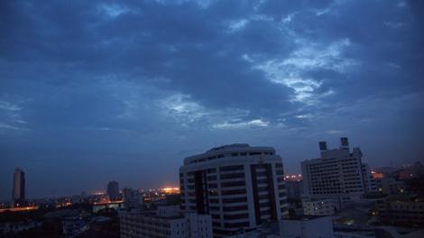 20080811 夜明け