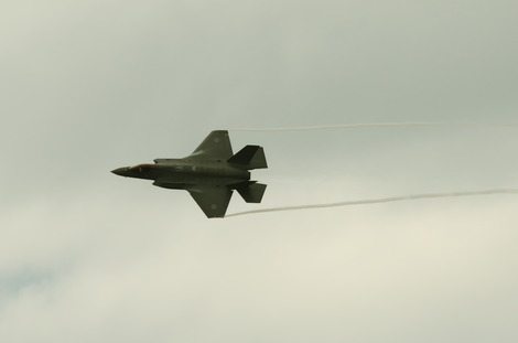 20181014 朝霞駐屯地観閲式F-35-2