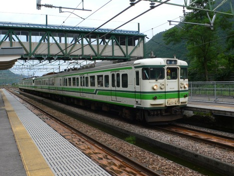 20100813 土樽駅にて