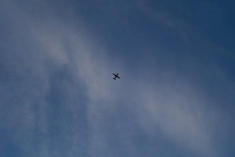 20180815 飛行機が飛ぶ