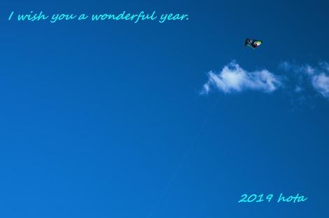 2019 I wish you a wonderful year