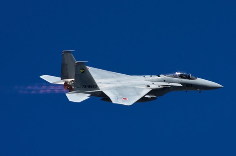 20171103 F-15J帰投