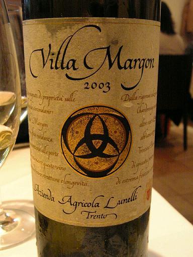 白ワイン、ラベル