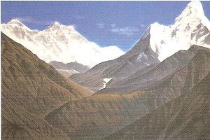 大唐西域壁画《西方浄土須弥山》2000年