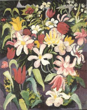 《花の絨毯》アウグスト・マッケ