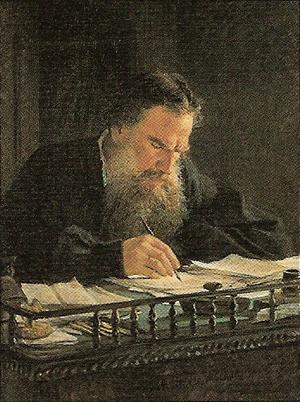 ニコライ・ゲー「文豪トルストイの肖像」