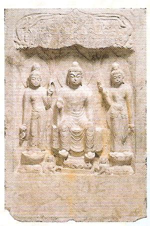 《重文 弥勒三尊仏龕》