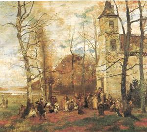 イッポリート・ブーランジェ《聖ユベールのミサ》1871年