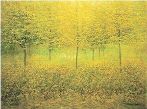 《春の緑》アルベイン・ヴァン・デン・アベール