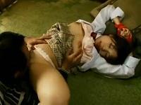 【レイプ 強姦】ショートカットロリ巨乳制服少女を監禁してからの陵辱調教で性処理玩具に!!【紗倉まな】