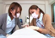 マゾ心をくすぐる医療マスクした女性の包茎診察www HIKARI 武井麻希