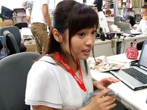 「SOD宣伝部」入社2年目の女性社員が取材だと騙されAVデビュー! 浅野えみ