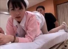 【ナース動画】幼女ナースさんを制服着せたままハメ撮り