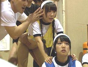女子校の球技大会に忍び込み、時間を止めてJCロリ少女を悪戯レイプしまくる!